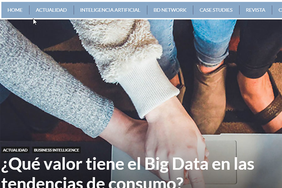 El valor del Big Data en las Trends Consumering