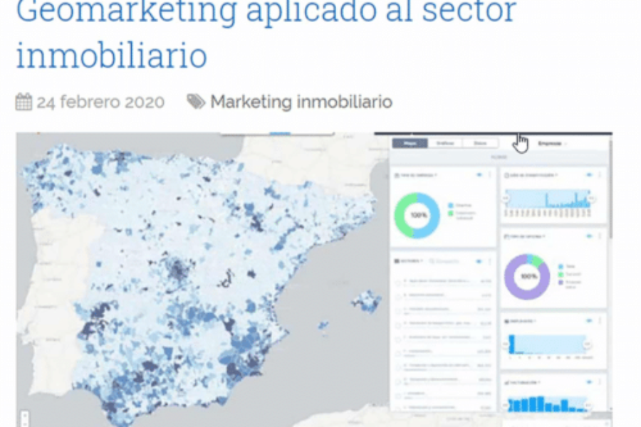 Geomarketing aplicado al sector inmobiliario